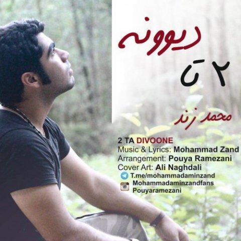 دانلود آهنگ جدید محمد زند به نام 2 تا دیوونه